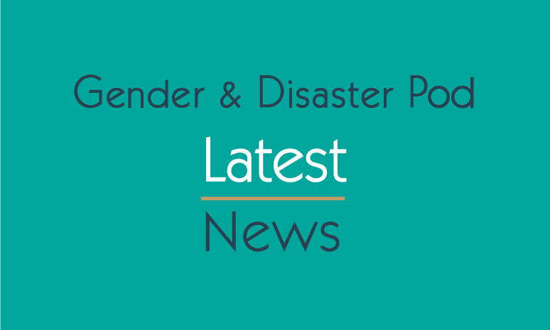gender disaster management
