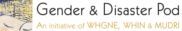 Gender and Disaster Pod Logo